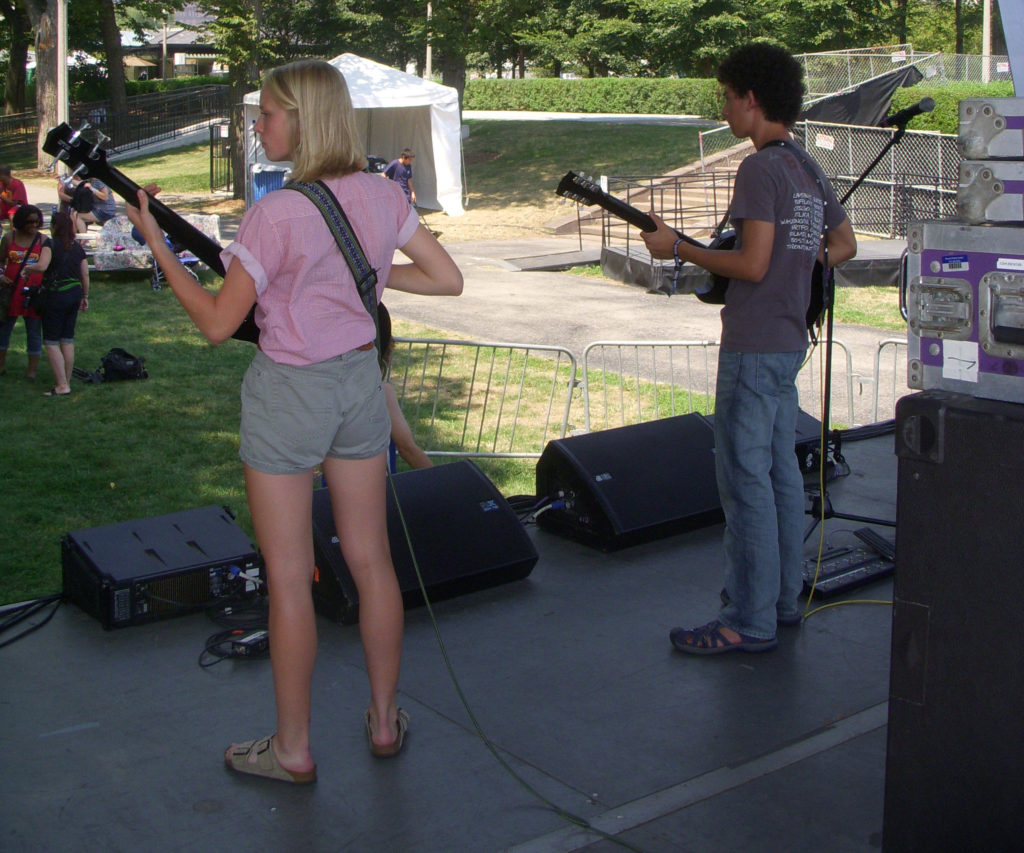 Harrison Ivaz Band at Lollapalooza 2012-2